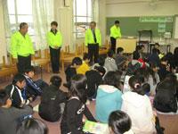 薬物乱用防止教室 宮根小学校