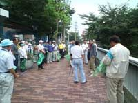 堀川一斉大掃除2007